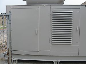 commercial generator housing